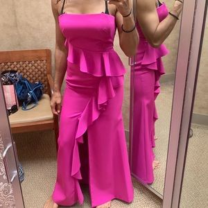 Vince camuto formal fuchsia dress